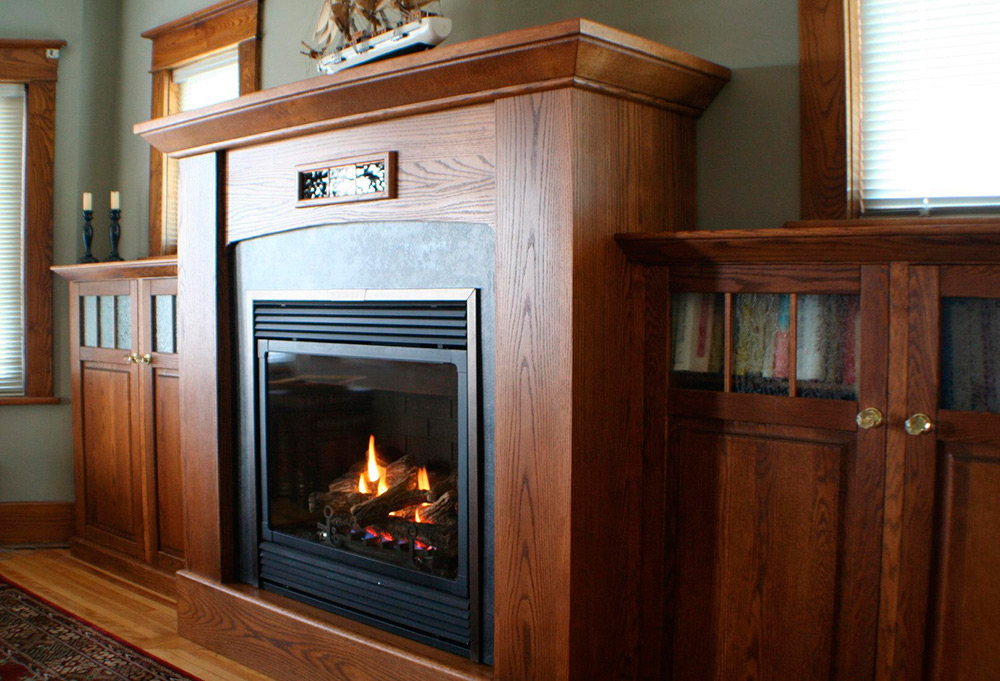 Fireplace Library Whistlewood