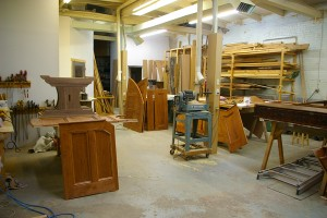 Interior of Whistlewood Custom Woodworking